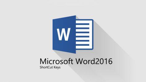 کلیدهای میانبر پرکاربرد نرم افزار مایکروسافت Word