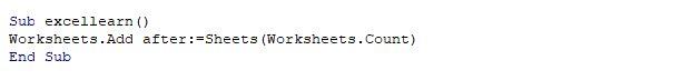 کار با Worksheet در ماکرونویسی اکسل