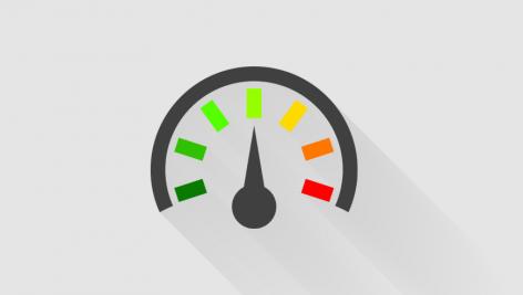 آموزش تصویری ساخت نمودار سرعت سنج در اکسل