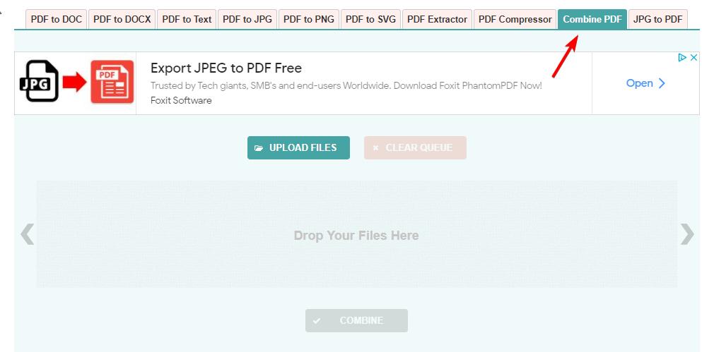 تبدیل چندین فایل PDF به یک فایل PDF