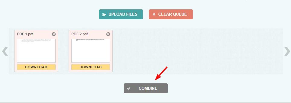 آموزش تبدیل چند فایل پی دی اف به یک فایل پی دی اف بصورت آنلاین
