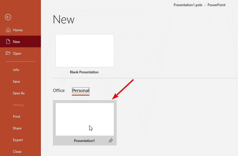 چگونه فونت پیشفرض نرم افزار پاورپوینت را تغییر دهیم